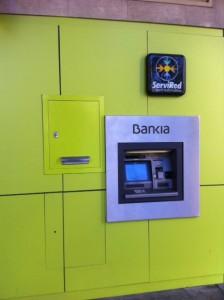 Cajero Bankia en Valencia
