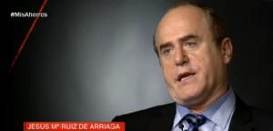 Jesus M Ruiz de Arriaga en el programa de Cuatro TV