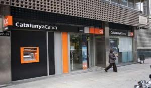Una oficina de Catalunya Caixa