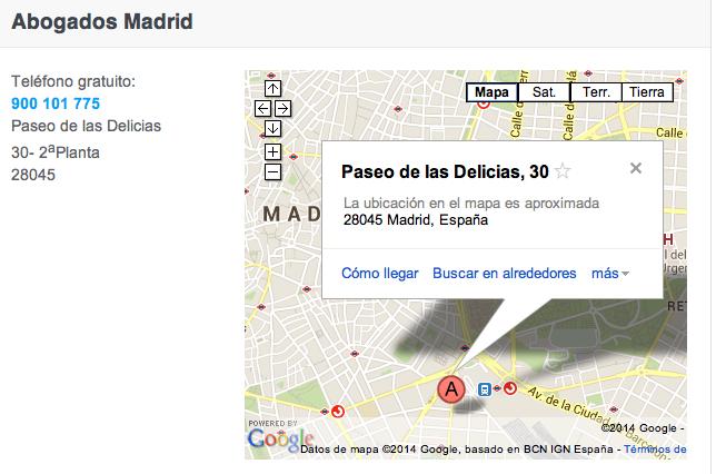 Arriaga Asociados Abogados Madrid