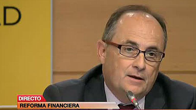 Fernando Restoy, presidente del FROB. FUENTE Rtve