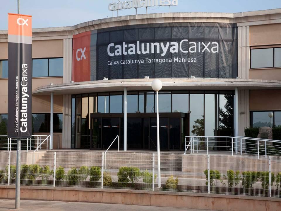 Imagen de una de las sedes centrales de Catalunya Caixa FUENTE Vozpopuli