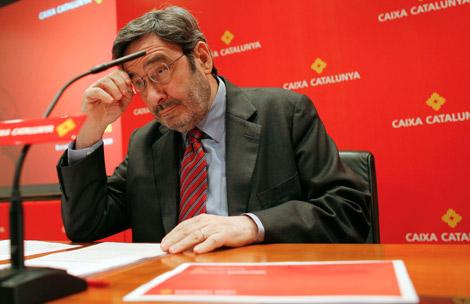Narcis Serra, presidente de Caixa Catalunya FUENT Diario El Mundo