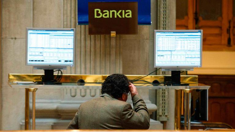 Seguimiento en Bolsa d Bankia FUENTE RTVE