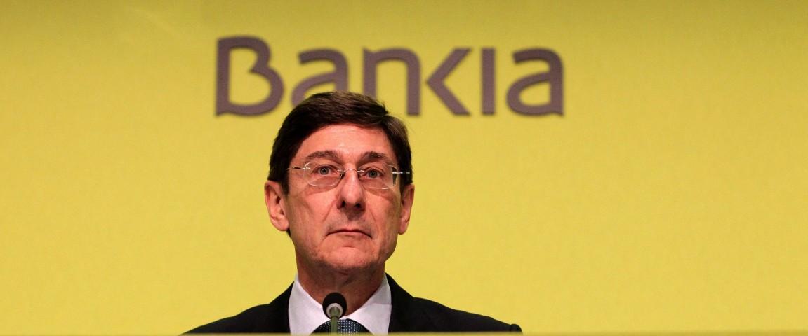 El presidente de Bankia, Jose Ignacio Goirigolzarri FUENTE Intereconomia