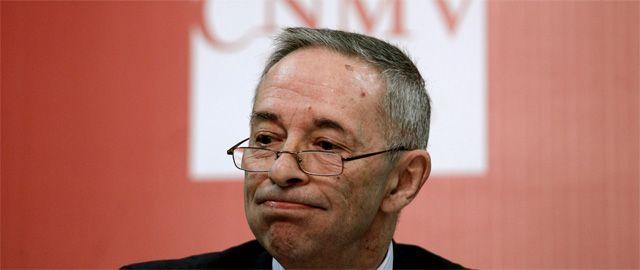 Julio Segura ex presidente de la Comision Nacional del Mercado de Valores FUENTE El Confidencial