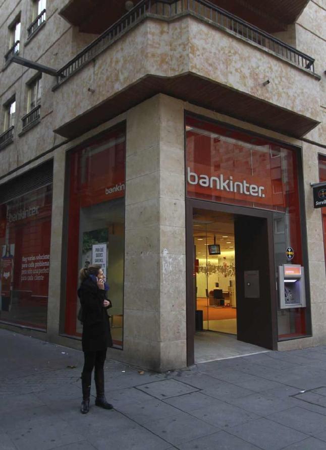 Una de las oficinas de Bankinter que hay en zamora FUENTE La opinion de Zamora