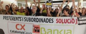 Afectados preferentes y subordinadas en Catalunya