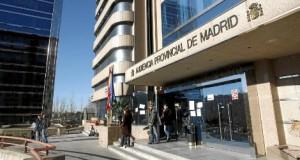 Audiencia Provincial de Madrid FUENTE Diario El Mundo