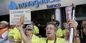 Novagalicia plantea una solución rápida para los afectados por las preferentes que consiste en no devolverles todo el dinero que invirtieron FUENTE El Confidencial