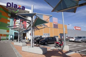 Imagen de Eroski en el centro comercial Plaza Imperial de Zaragoza FUENTE El Heraldo de Aragon