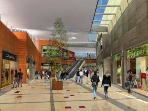 Imagen de como sera el centro comercial de Benidorm en el que Eroski va a invertir 180 millones de euros FUENTE Ayuntamiento de Benidorm