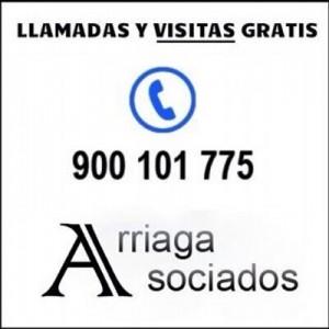 Llame a nuestro telefono y concierte una visita gratis con Arriaga Asociados en A Coruna y Vigo