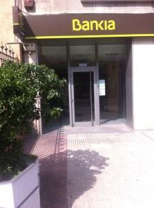 Oficina de Bankia en Zaragoza
