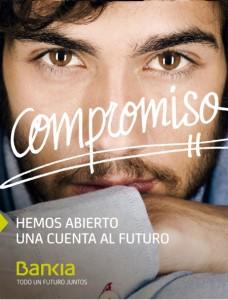Publicidad de la campaña de  emision publica de acciones de Bankia FUENTE Bankia