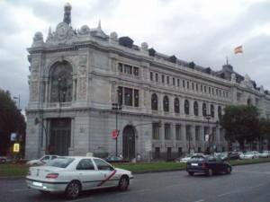 Sede del Banco de Espana en Madrid FUENTE Wikipedia