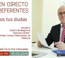 Charla en directo el día 10 de Junio de 2014 en Valencia con Jesús María
