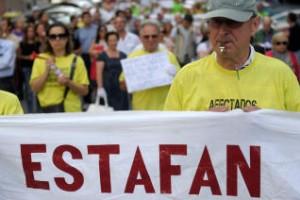 Los afectados por las preferentes aun siguen luchando por su dinero FUENTE Flickr.com