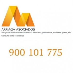 Si aun no tiene una solucion efinitva a sus preferentes de Bankia o el arbitraje no le ha servido, llamenos FUENTE arriagaasociados.com