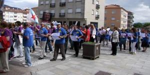 Los afectados por las preferentes gallegas han exigido en las calles una solucion a su problema FUENTE flickr.com