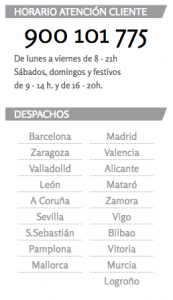 Arriaga Asociados te un telefon gratuit per atendre a accionistes de Bankia en qualsevol dels seus 19 despatxos FONT arriagaasociados.com