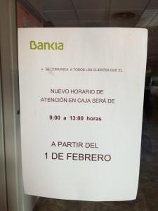 Cuando Bankia entro en quiebra, el valor de las acciones se desplomo FUENTE arriagaasociados.com