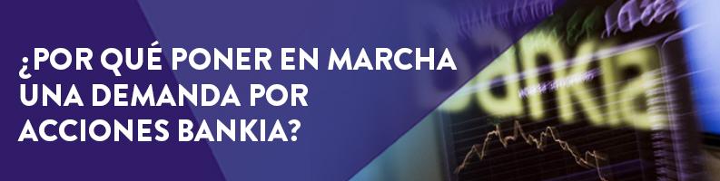Demanda por acciones de Bankia