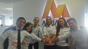 El equipo de Arriaga Asociados en el Intermon Oxfam Trailwalker FUENTE arriagaasociados.com