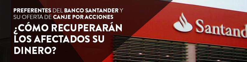 Preferentes y Valores Banco Santander