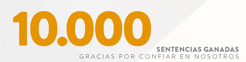 10.000 sentencias ganadas en Arriaga Asociados