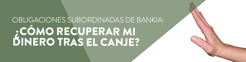 Subordinadas de Bankia