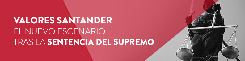 Sentencia de los valores Santander