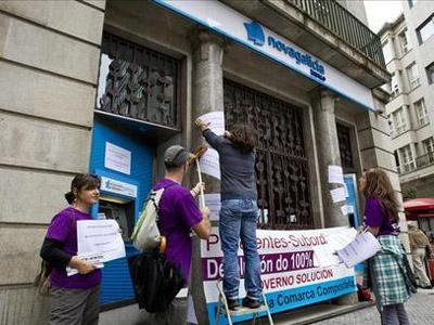 protesta banco novagalicia