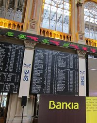 Bolsa Bankia