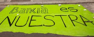 Protesta contra Bankia