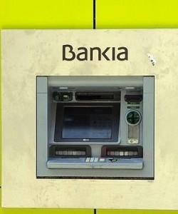 Cajero Bankia en Madrid