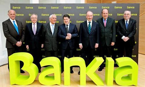 Salida oficial de Bankia a Bolsa FUENTE INTERECONOMIA