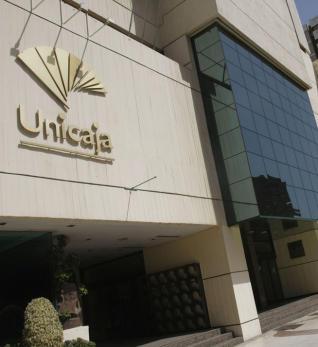 Sede central de unicaja en Malaga FUENTE LA OPINION DE MALAGA