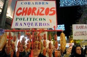 Afectados por preferentes manifestandose FUENTE Diario El Mundo