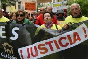 Afectados preferentes Ceiss reclaman justicia FUENTE Tribuna de Salamanca