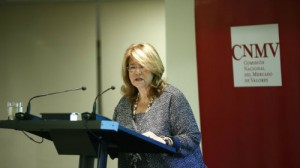 Elvira Rodriguez, presidenta de la CNMV FUENTE Europa Press