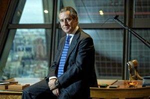Miguel Blesa en su despacho de Caja Madrid cuando era presidente de la entidad FUENTE El Pais