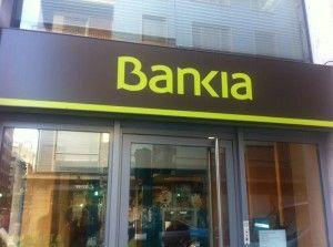 Oficina de Bankia en Valencia