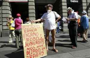 Afectados piden a diario que se depure la responsabilidad publica de la venta de las preferentes FUENTE El Diario