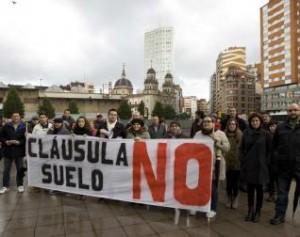 Cada dia hay mas protestas y denuncias contra las clausulas suelo FUENTE Ine.es
