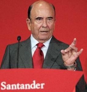 Emilio Botin, presidente del Banco de Santander FUENTE Libertadigital.com