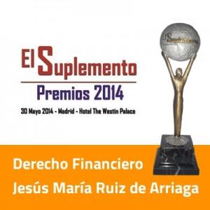 Arriaga Asociados consiguio en 2013 y 2014 el premio al mejor despacho financiero de Espana FUENTE arriagaasociados.com