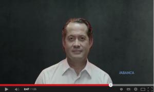 Juan Carlos Escotet presidente de Banesco y vicepresidente de Abanca en el nuevo video spot de Abanca FUENTE Youtube