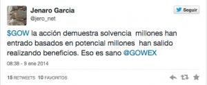 Tuit Jenaro Garcia 5 FUENTE Twitter Jenaro Garcia