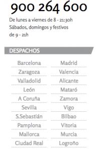 Arriaga Asociados tiene mas de 300 profesionales trabajando en 20 oficinas repartidas por toda Espana FUENTE arriagaasociados.com